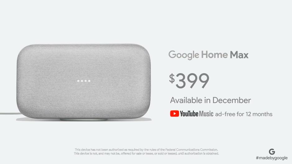 Google Home : une version mini et maxi des enceintes connectées