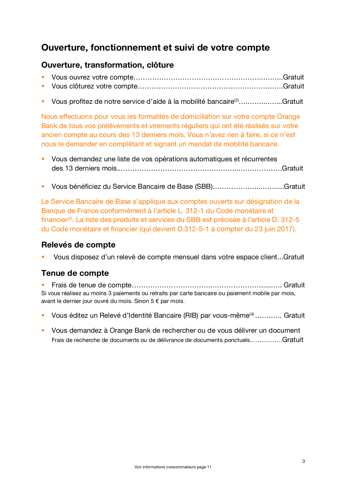 Orange Bank Faut Il Craquer Derriere La Gratuite Affichee Quels