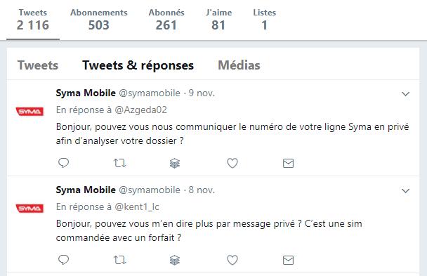 Syma Tweets