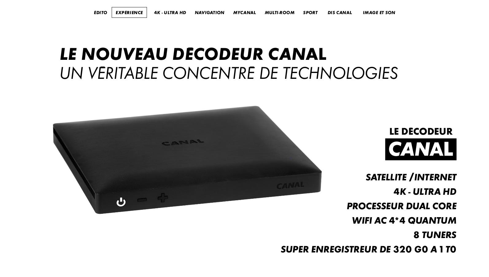 later new high quality 100% genuine Décortiquons Le décodeur Canal qui mise sur son interface et ...
