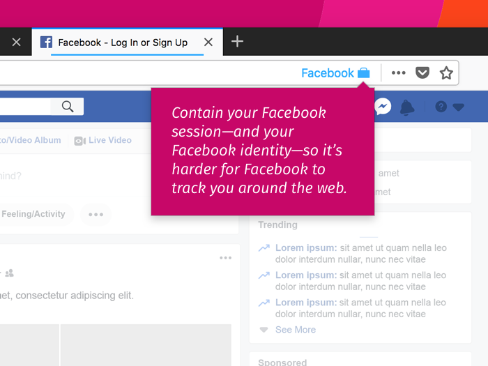 Mozilla lance une extension contre le tracking de Facebook