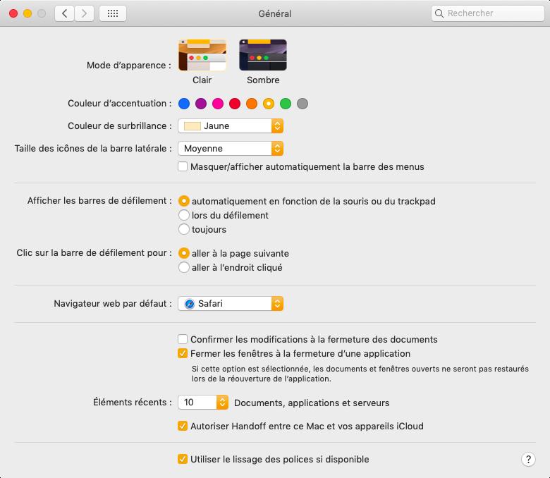 255c586a7497d Mojave : plongeon dans le dernier macOS et son mode sombre
