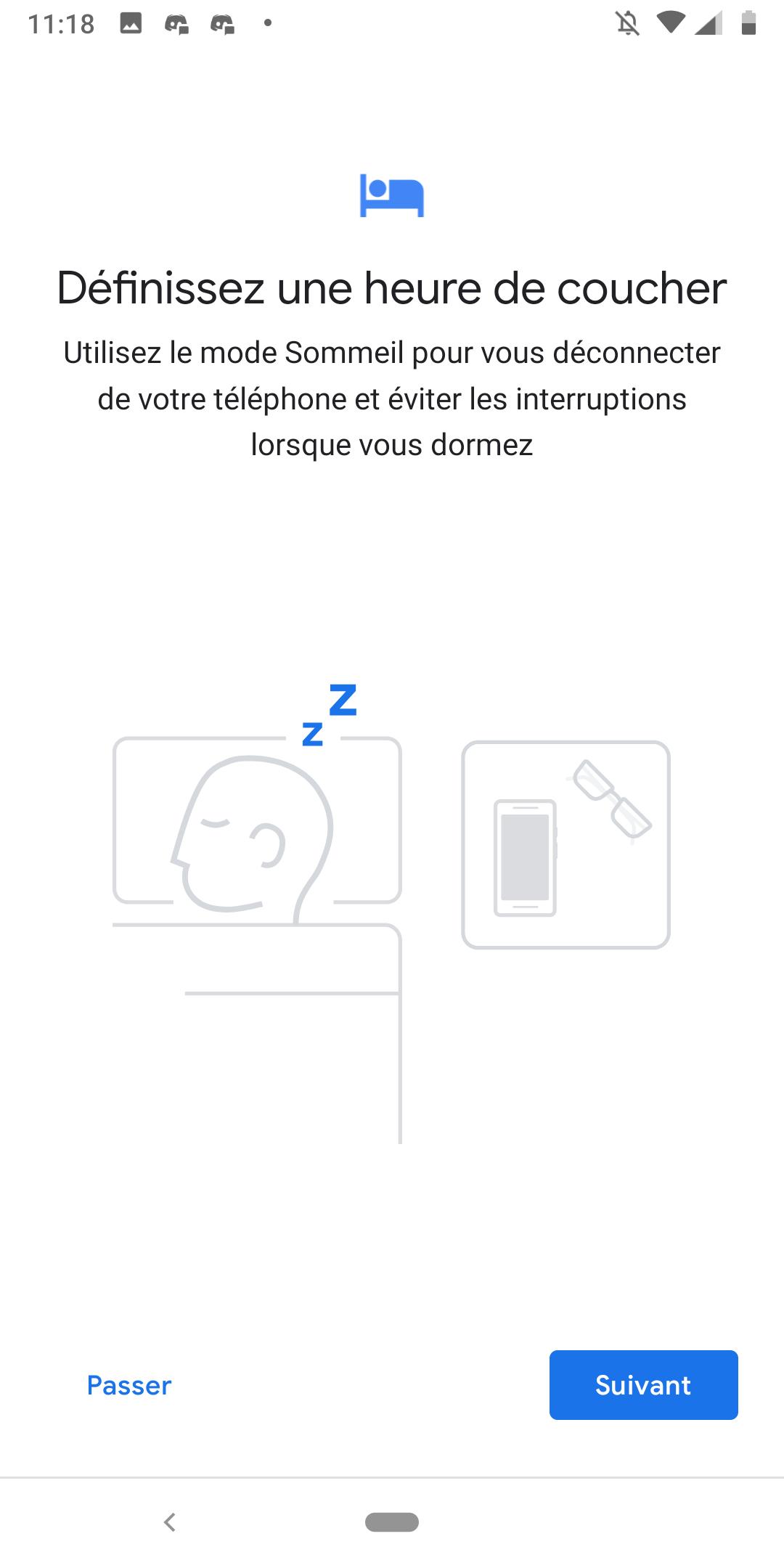 Android 9.0 Pie bien-être numérique