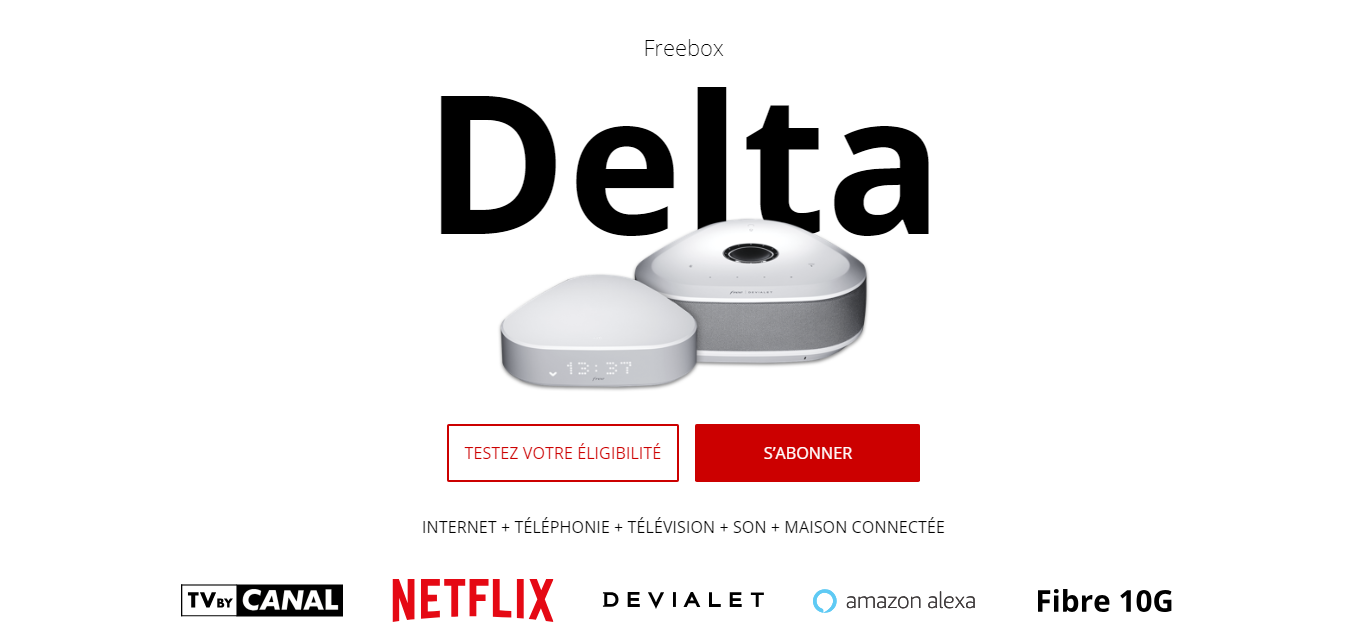 Freebox Delta One Revolution Mini 4k Tarifs Conditions