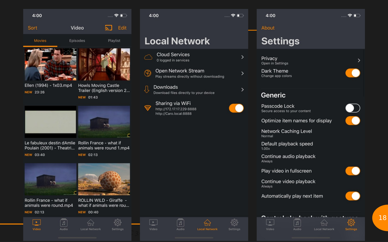 Le point sur VLC 4 0 : Media Library généralisée, AirPlay