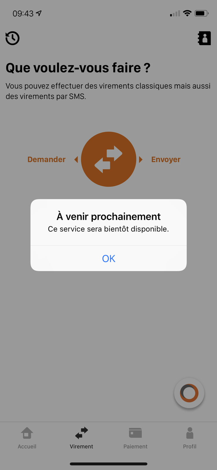 Orange Bank Application Décembre 2018