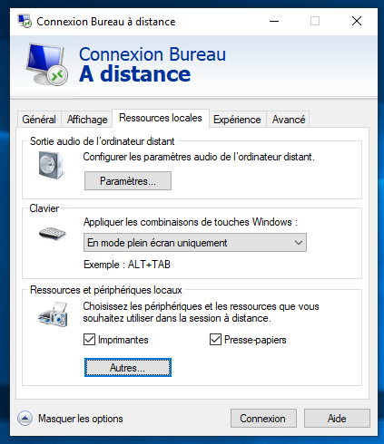 Bureau à distance sous Windows 10 : comment l'activer et l