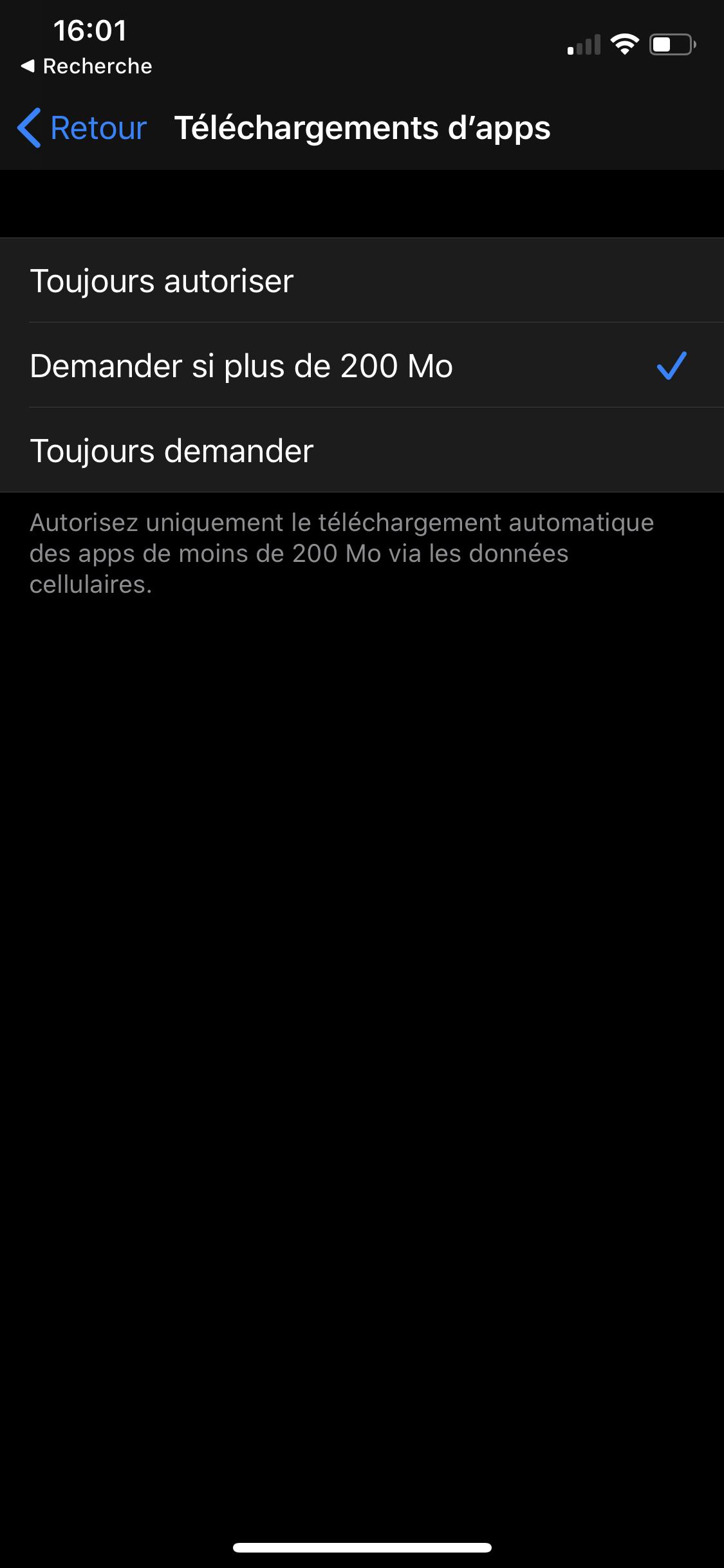 iOS 13 app store