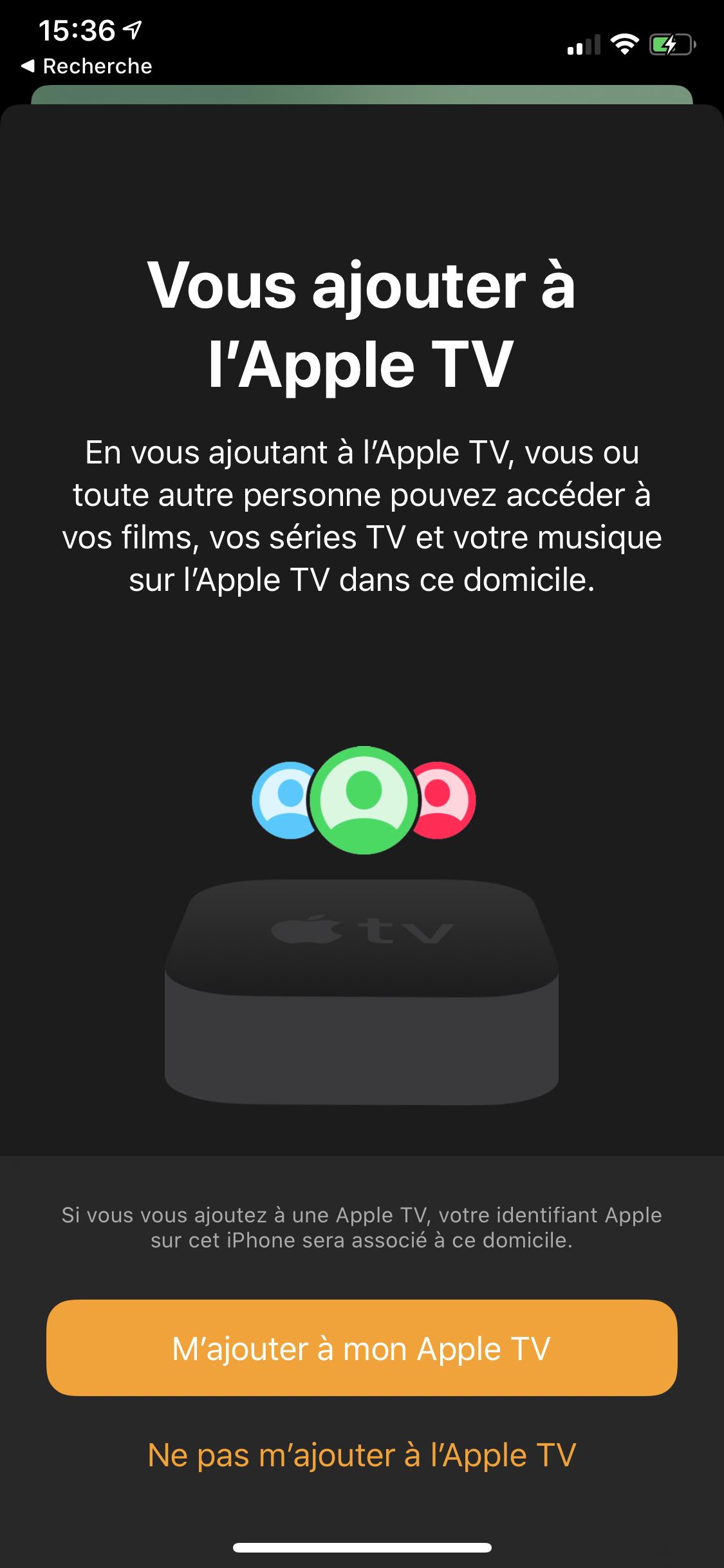 iOS 13 Maison