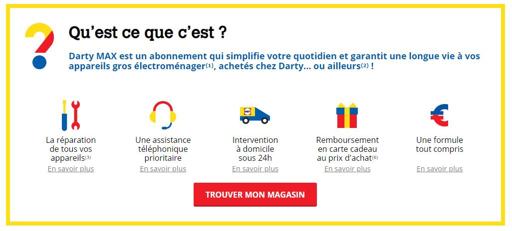 Darty Max Les Petites Lignes De L Abonnement Garantissant