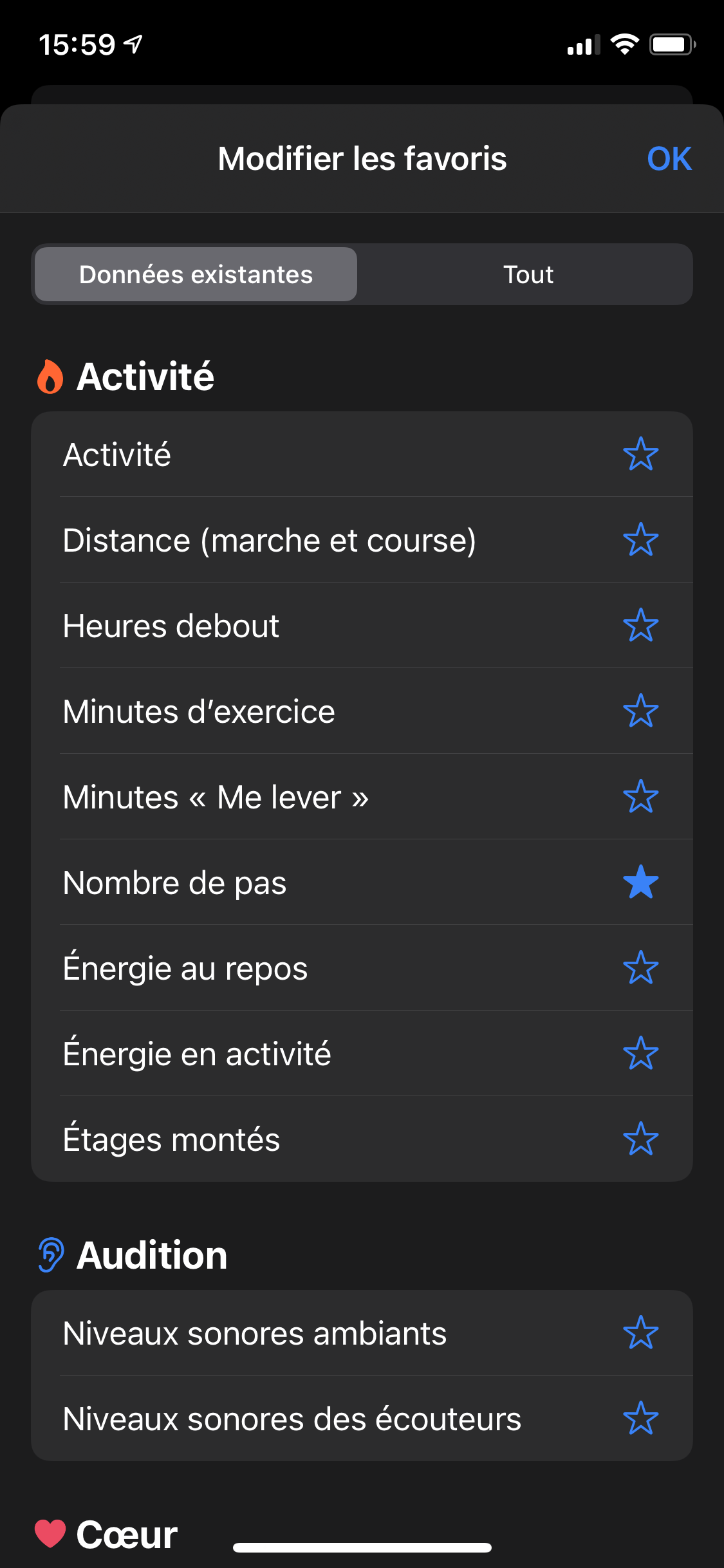 iOS 14 Santé