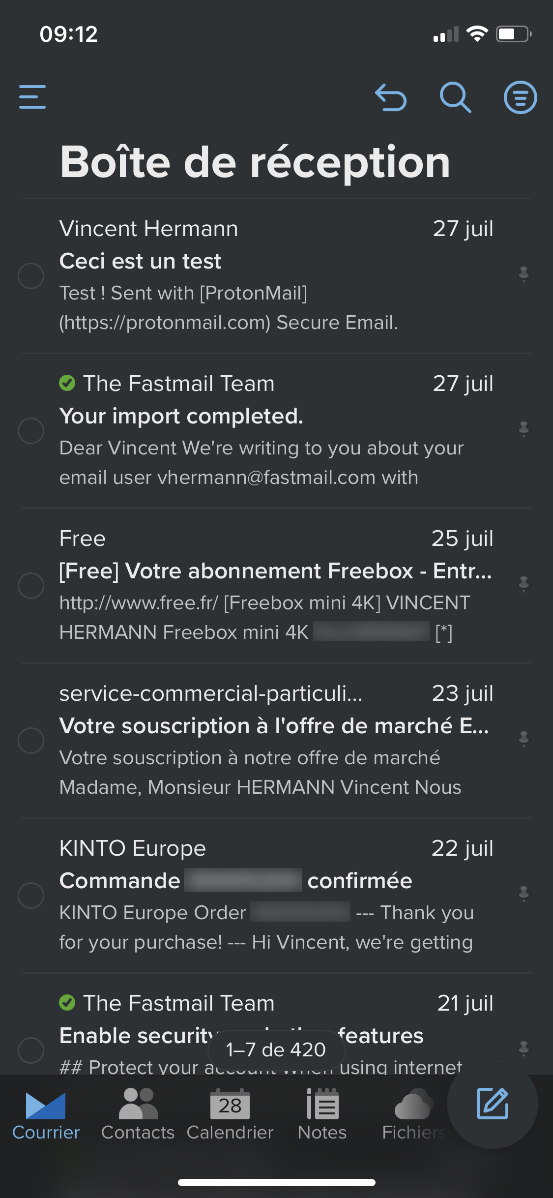 Fastmail iOS
