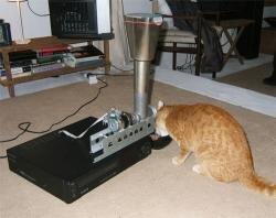 Magnétoscope VCR VHS Chat