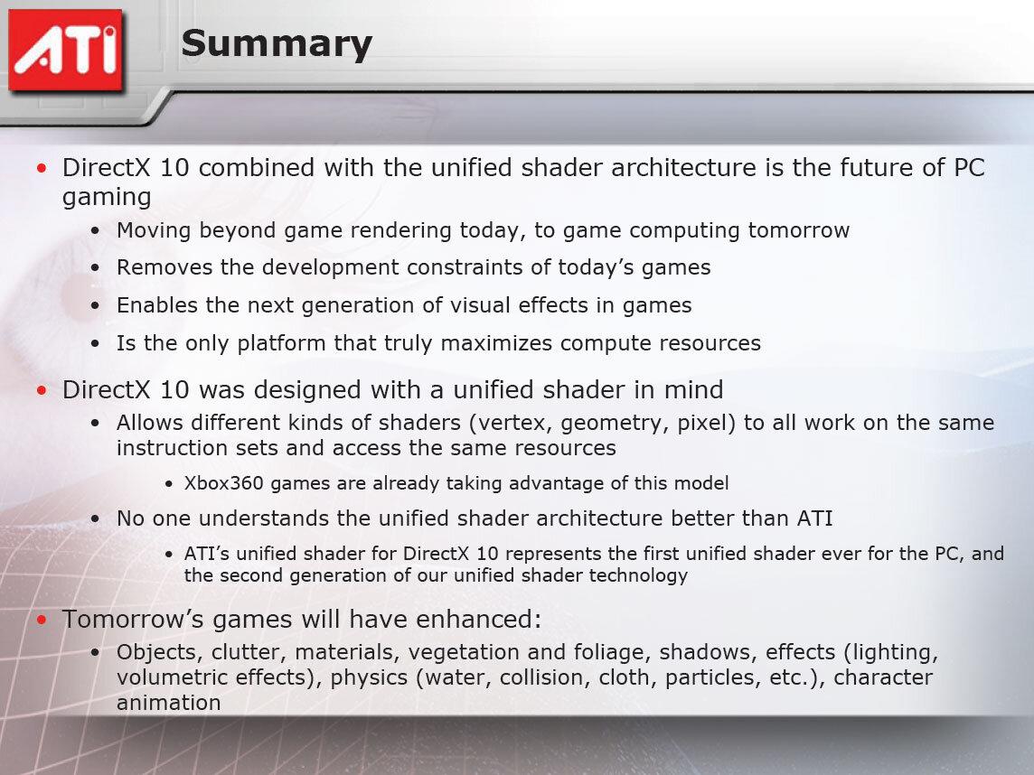 Nouvelle Version Du Sdk Directx Preview De La V10 Inside