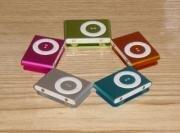 Apple iPod Shuffle couleurs