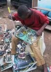nigeria africain recyclage déchets