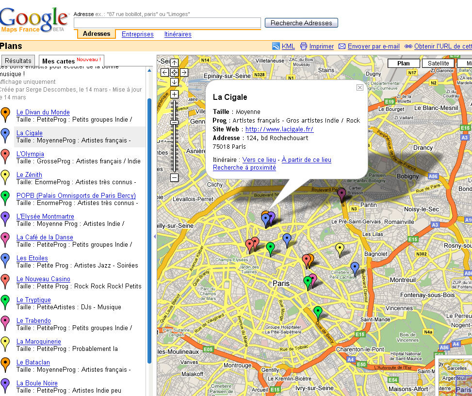 Cr er des cartes personnalis es avec google maps - Creer une carte geographique personnalisee ...