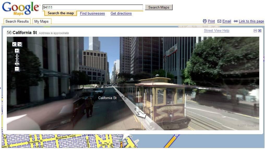 Street View Pour Google Maps Virtual Earth 3d Pour Microsoft