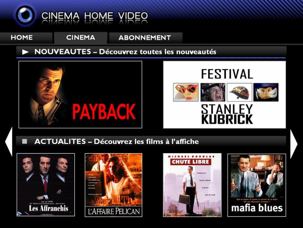 free un bouquet de films en vod illimit e pour 5 99 m m j. Black Bedroom Furniture Sets. Home Design Ideas