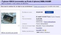 eBay iPhone