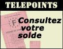 telepoints permis à points