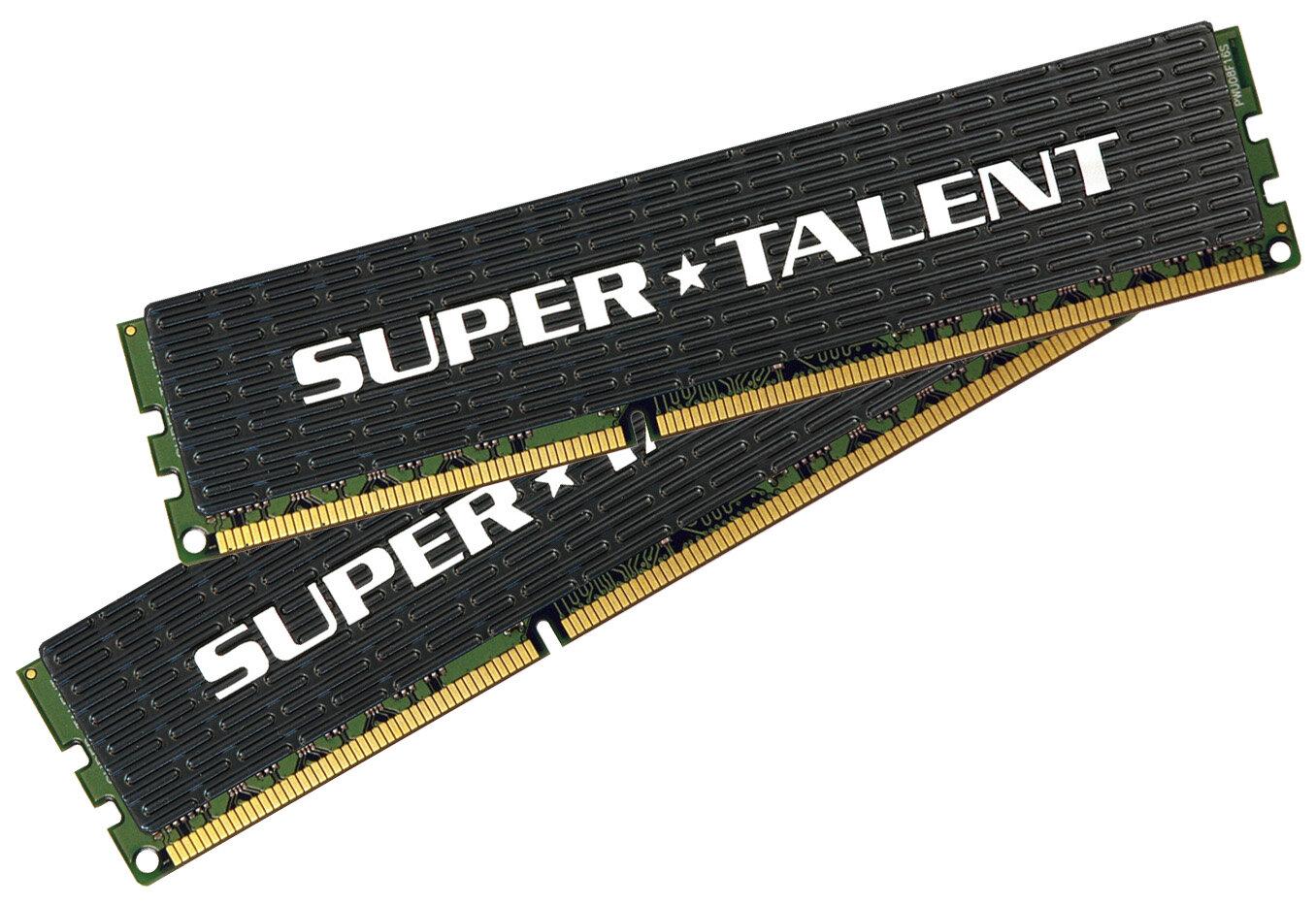 Super Talent lance de la RAM DDR3 1600 MHz en CL7