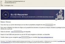 eurid spam phishing