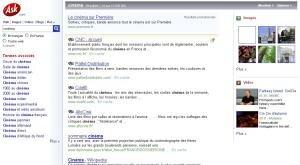 Ask moteur de recherche