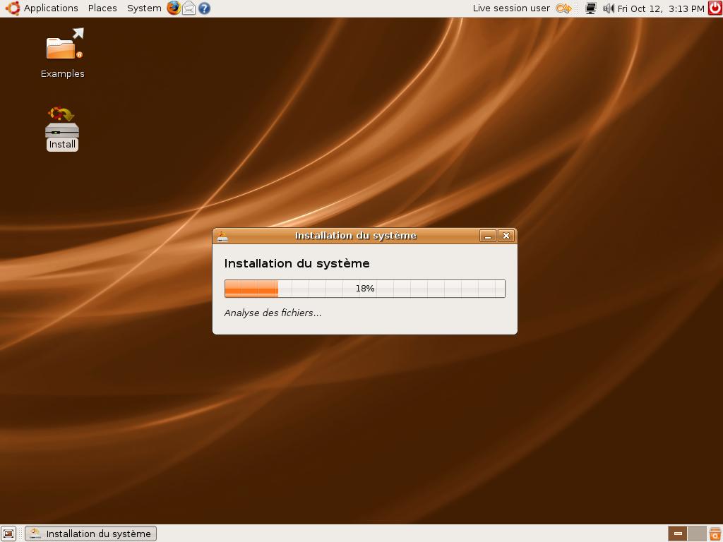 installation lente de firefox ubuntu