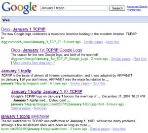google résultats