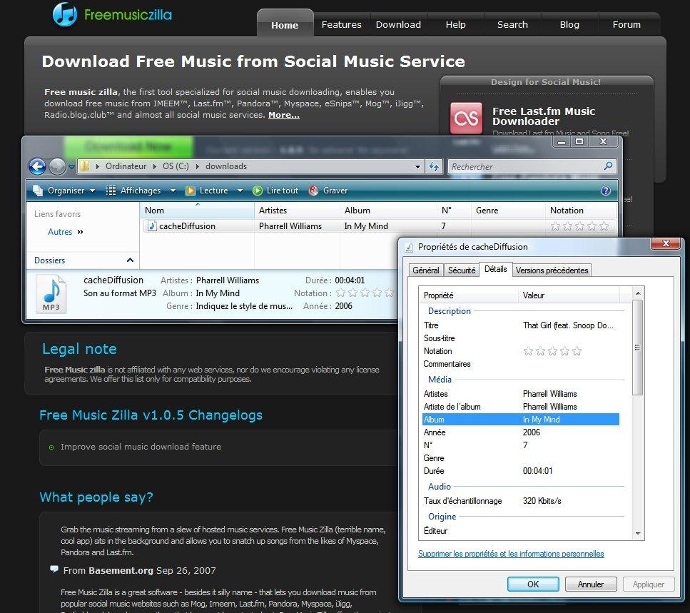 music deezer avec free music zilla