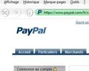 paypal sécurisé https