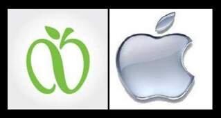 apple pomme logo new york