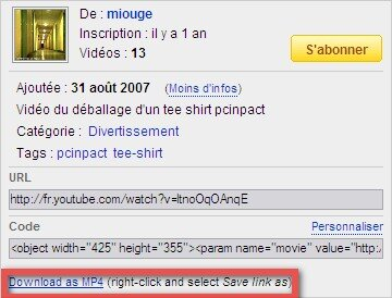 YouTube MP4 Download