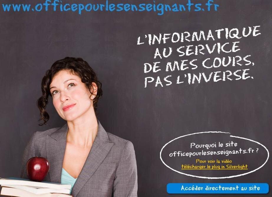 Microsoft office 2007 professionnel gratuit pour les enseignants - Office pour les enseignant ...