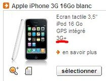 iPhone Orange 3G+