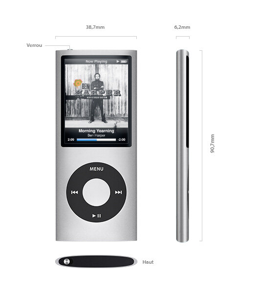 apple itunes 8 renouvellement des ipod classic touch. Black Bedroom Furniture Sets. Home Design Ideas