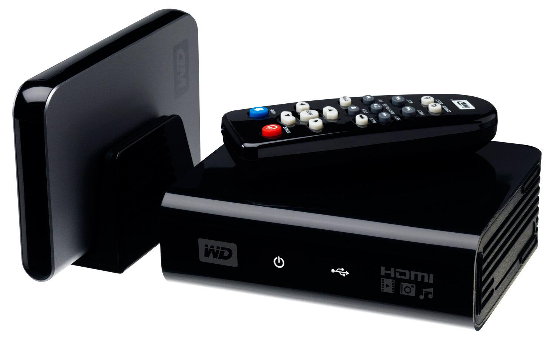WD TV HD Media Player, pour relier disques durs et TV