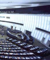 Parlement Européen de Strasbourg, cliquer pour plu