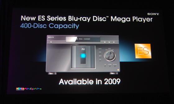 Sony 400 disc blu ray ultra player 400 disques dans un - Est ce qu un lecteur blu ray lit les dvd ...
