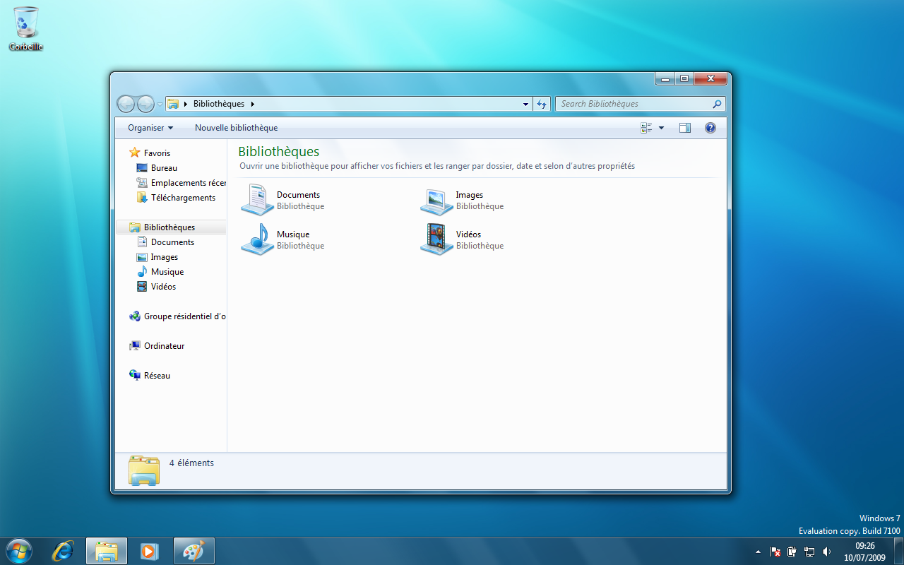 Next inpact windows 7 comment microsoft veut faire for Fenetre windows 7 outils