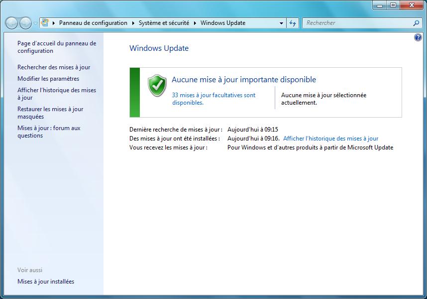 pilote d'installation de Windows 7 non trouvé cd