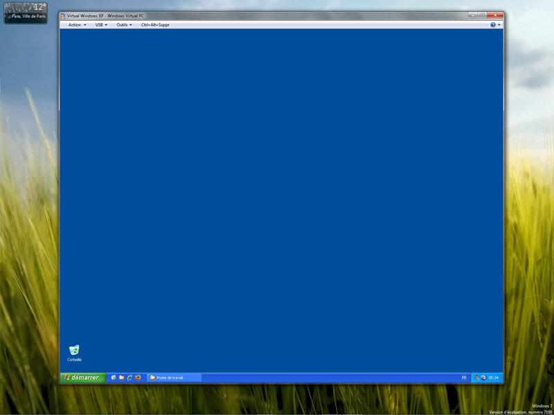 Next inpact windows 7 comment microsoft veut faire for Fenetre windows xp