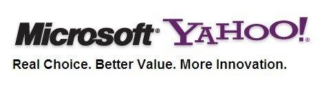 Microsoft Yahoo logo