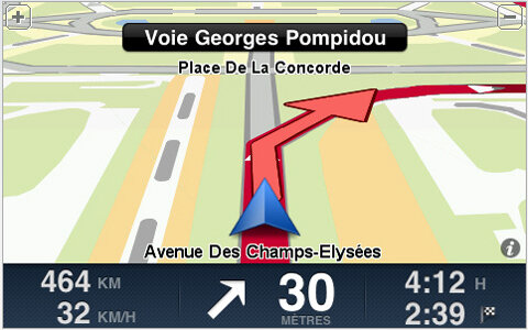 tomtom tom-tom iphone GPS appstore