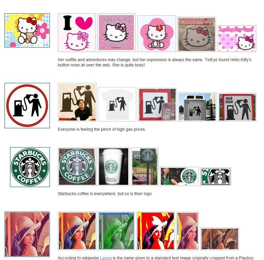 Les moteurs de recherche d'images porno