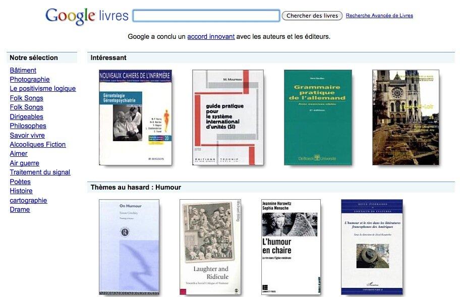 google compte le nombre de livres dans le monde