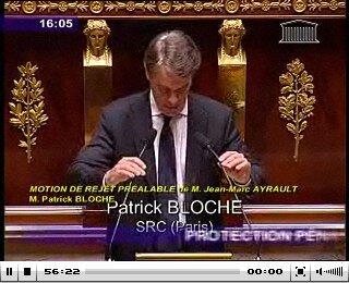 Patrick Bloche 22 septembre 2009