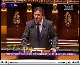 Philippe Gosselin 22 septembre 2009