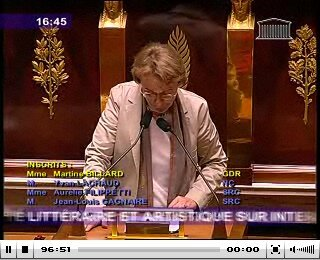 Martine Billard 22 septembre 2009